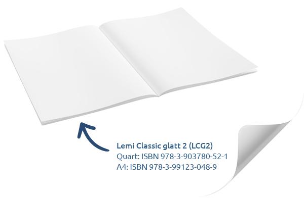 Glatte Hefte für die Mittelschule aus der Serie Lemi der Lemur
